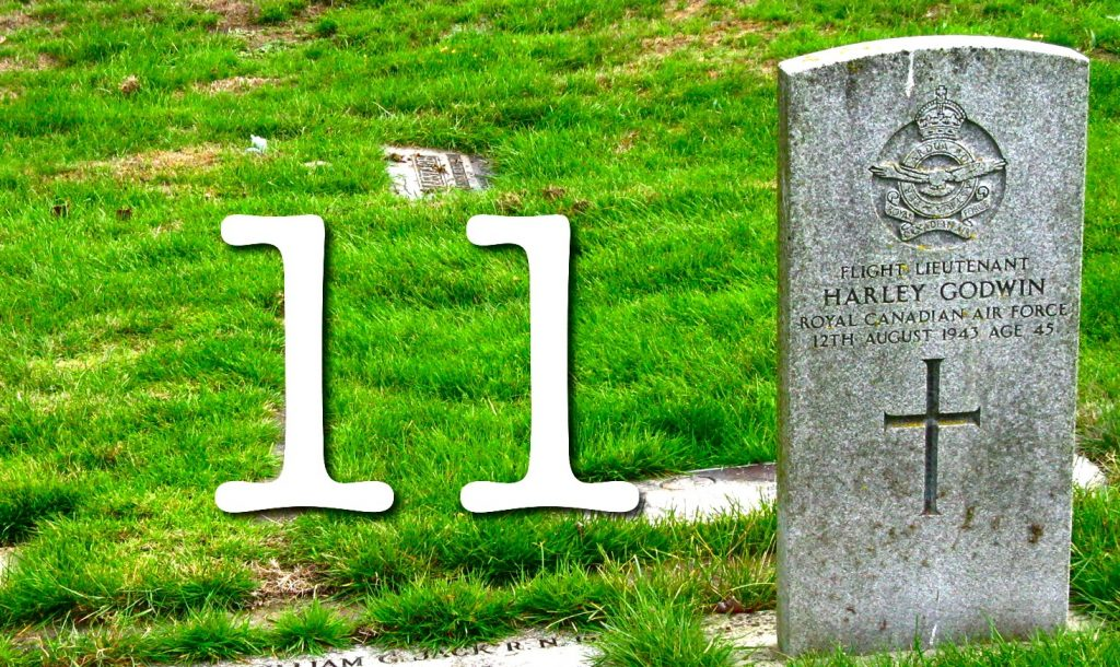 11 grave
